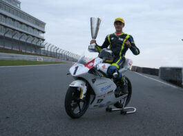 Bourne Wins The 2020 Honda British Talent Cup 01