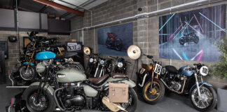 Fowlers Ve Day Bike Wins Public Vote In Triumph Bonneville Build Off 01