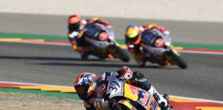 Perfect Acosta In Rookies Race 1 At Motorland Aragon 01