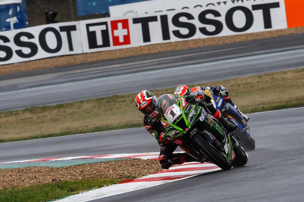 Rea Holds Off Baz For Victory In Dramatic Worldsbk Race 1