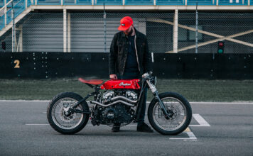 'hasty Flaming Buffalo' By Luuc Muis Revealed At Bigtwin Bikeshow