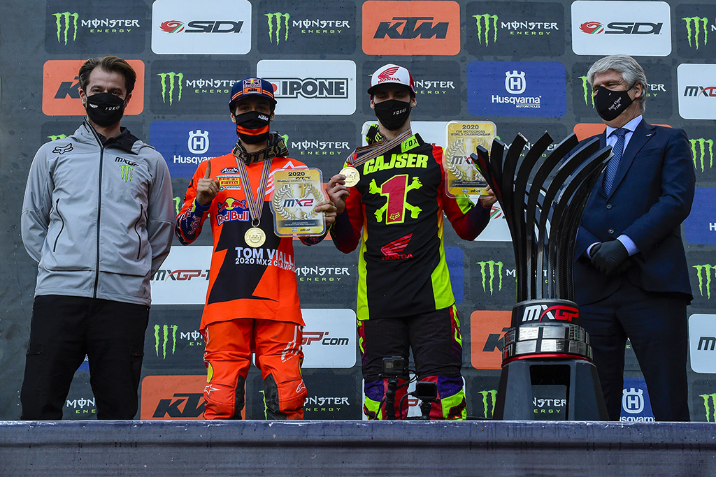 2020 Fim Motocross World Championship Season Concludes In Italy