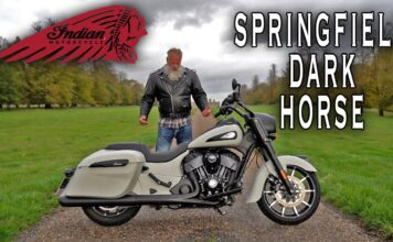 Indian Springfield Dark Horse Review.