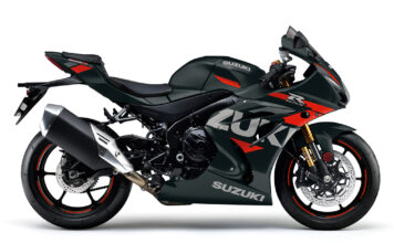 Black and orange GSX R1000R joins 2021 Suzuki range 01