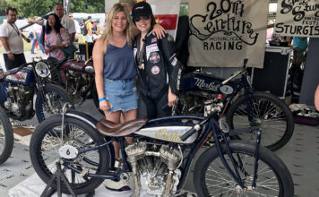 Brittney Olsen Debuts 1928 Indian Chief Racer At Goodwood Festival Of Speed