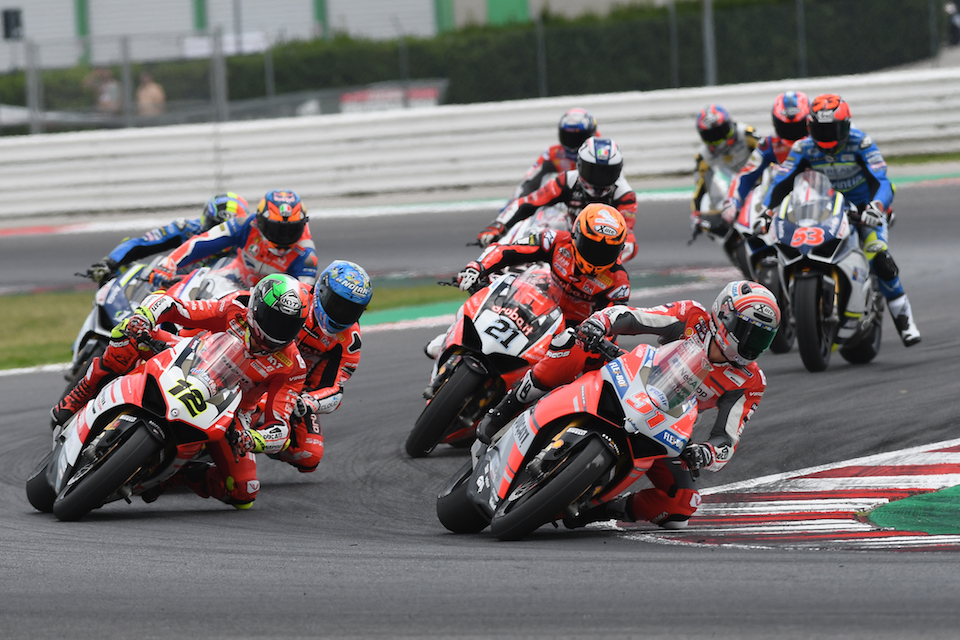 """Ducati Riders Thrill World Ducati Week 2018 With The """"race Of Champions"""""""