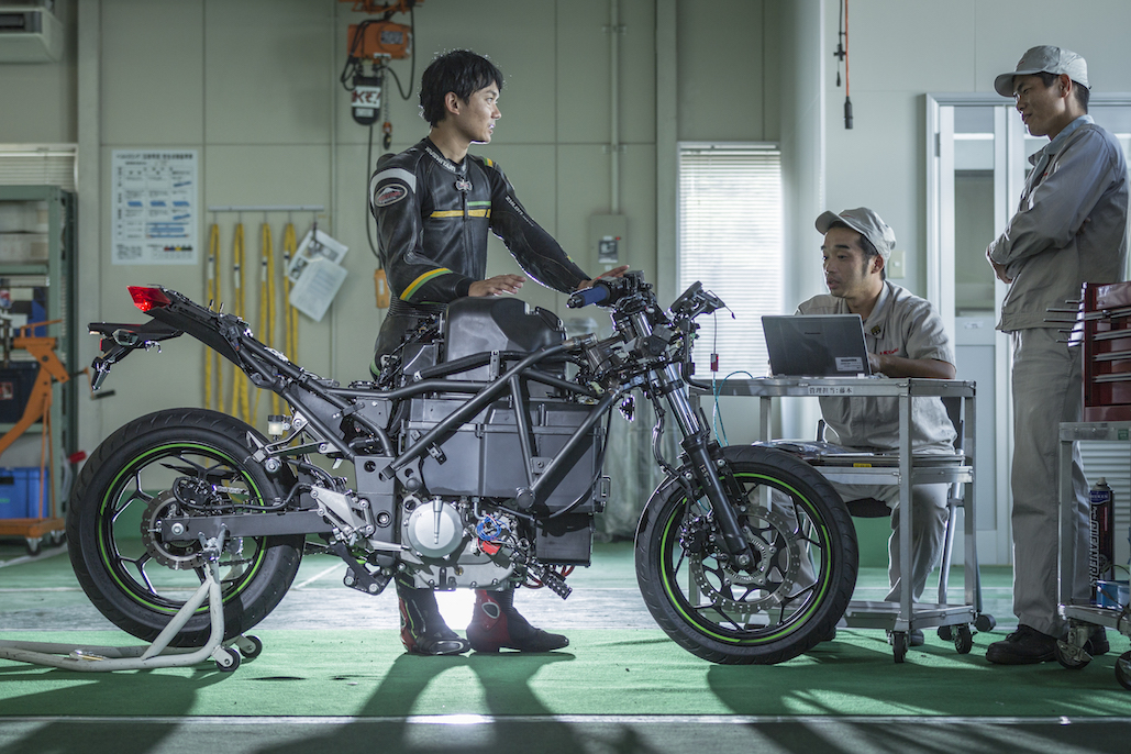 Electric Powered Bike Unveiled By Kawasaki