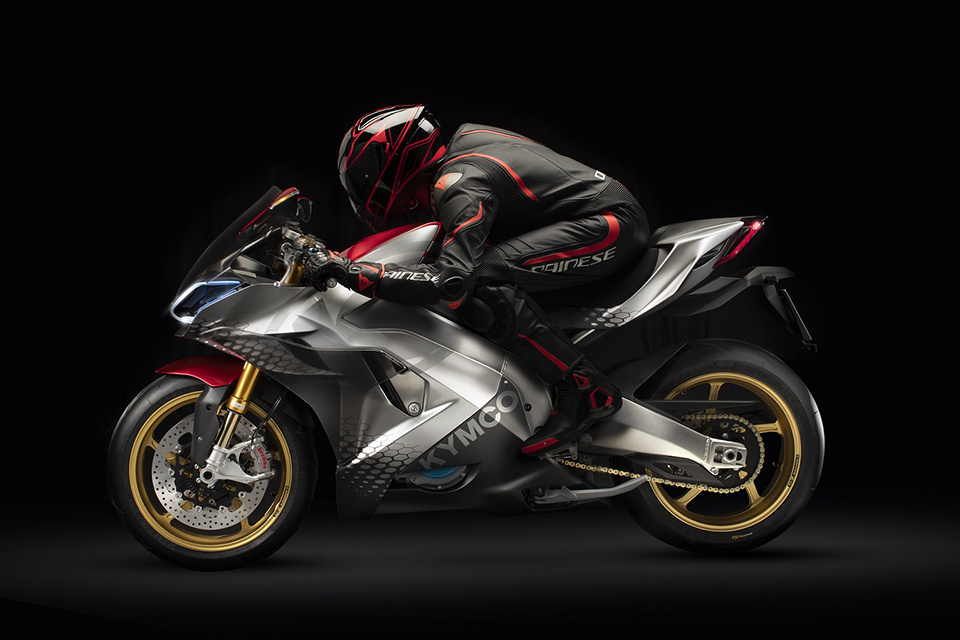 Kymco Introduces At Eicma 2018 Supernex Electric Supersport Motorcycle