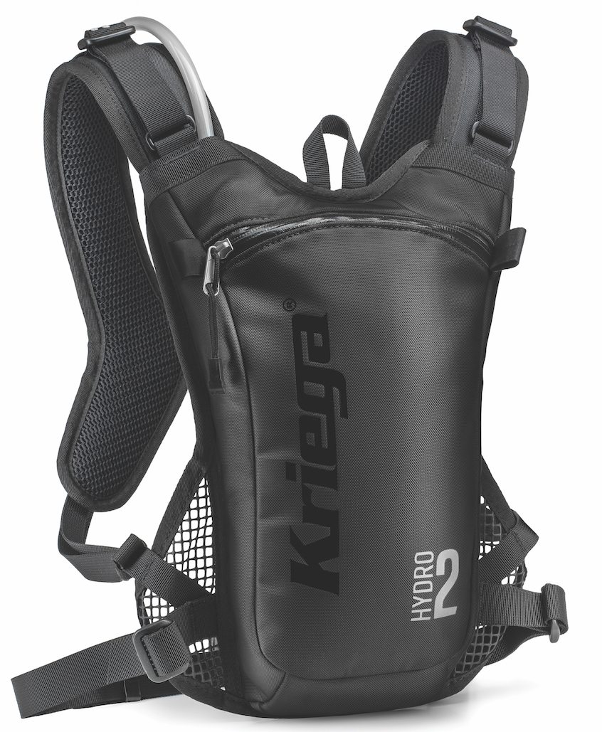 Kriega Goes Extreme With Lightweight Hydro-2 Off Road Hydration Pack