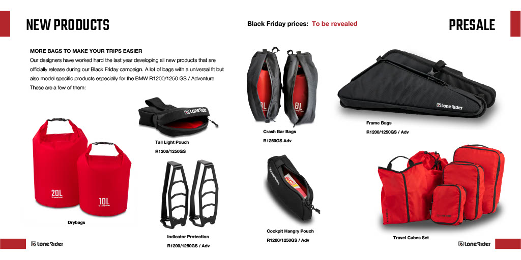 Lone Rider's Black Friday Deals