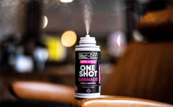 Muc-off Launches New Anti-viral One Shot Grenade