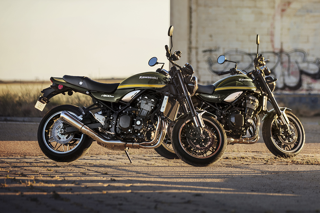 New Look For 2021 Kawasaki Z900rs And Entry-level Machines