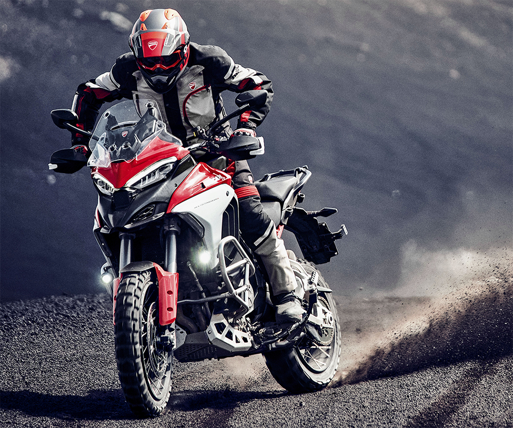Trio Of Pirelli Options For The New Ducati Multistrada V4