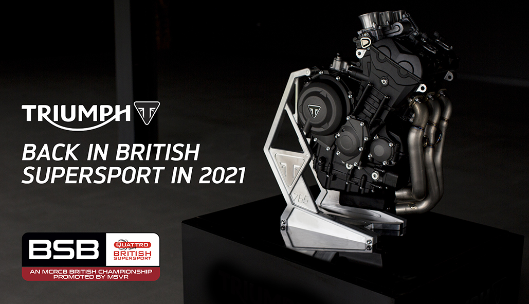 Triumph Motorcycles And Ptr Racing To Partner In British Supersport Championship