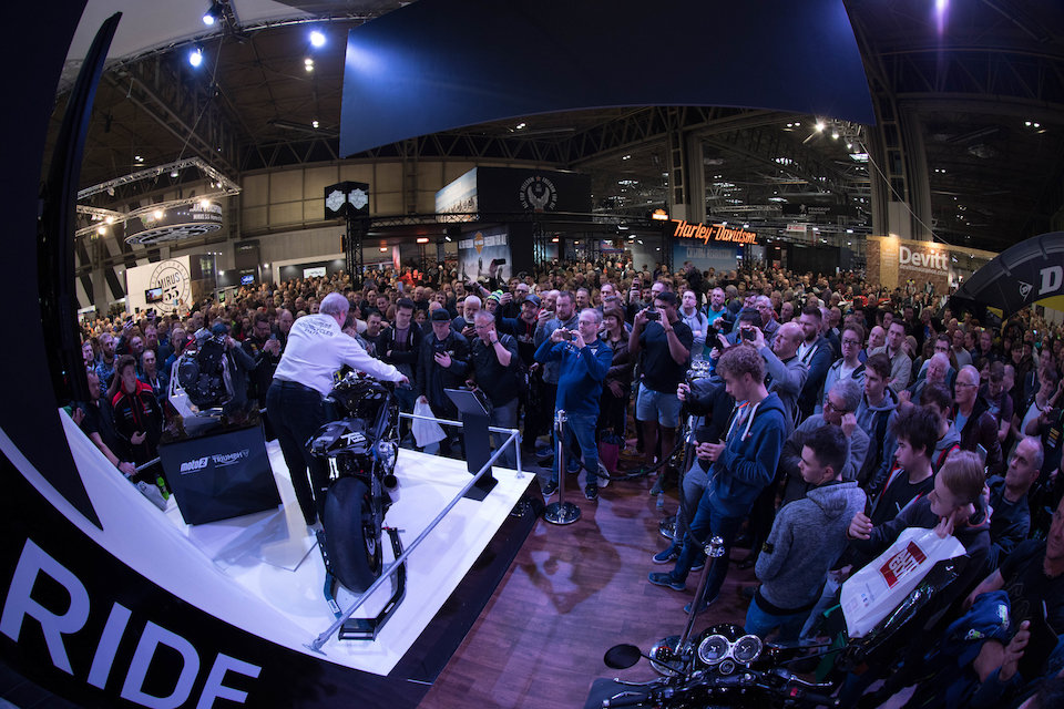 Triumph Wins Best Manufacturer Experience At Motorcycle Live