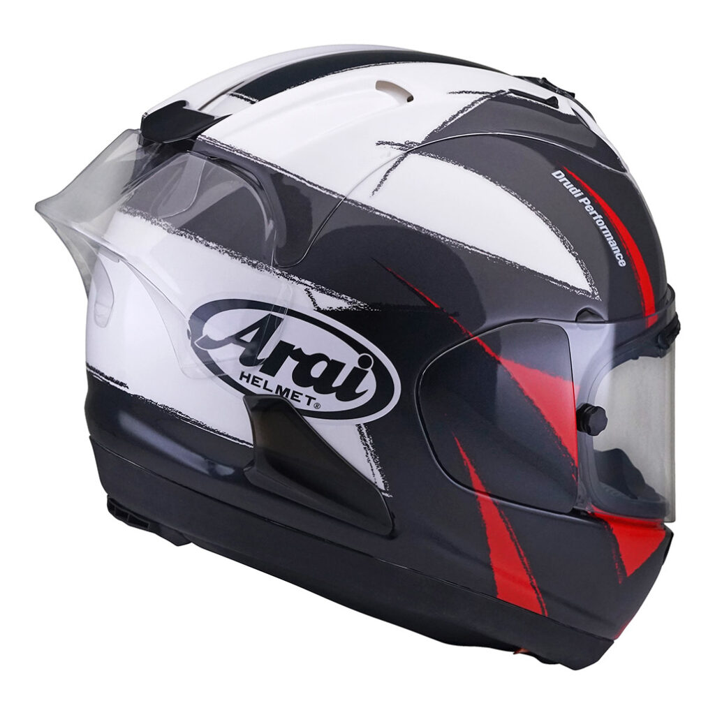 Arai Rx-7v Race Fim – Sign Grey