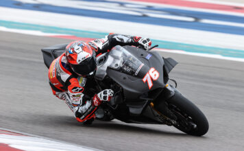 Baz Leads Day One Of Motoamerica  Dunlop Preseason Test