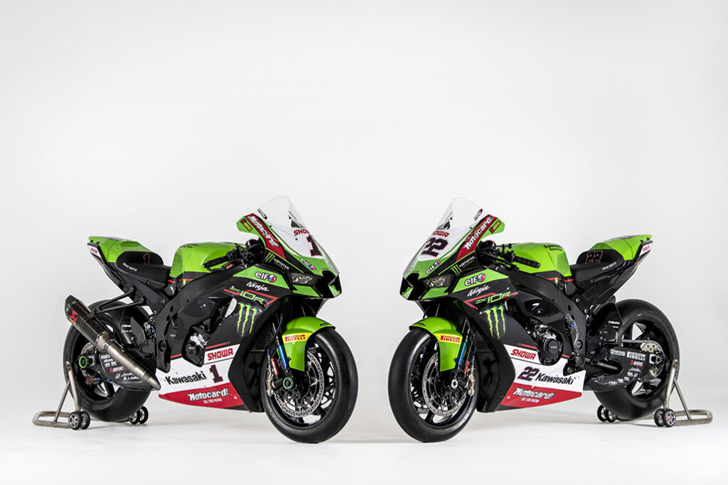 Jonathan Rea And Alex Lowes Unveil The 2021 Krt World Superbike