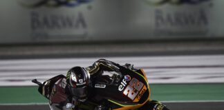 Lowes Lights Up Losail For First Pole Position Of 2021