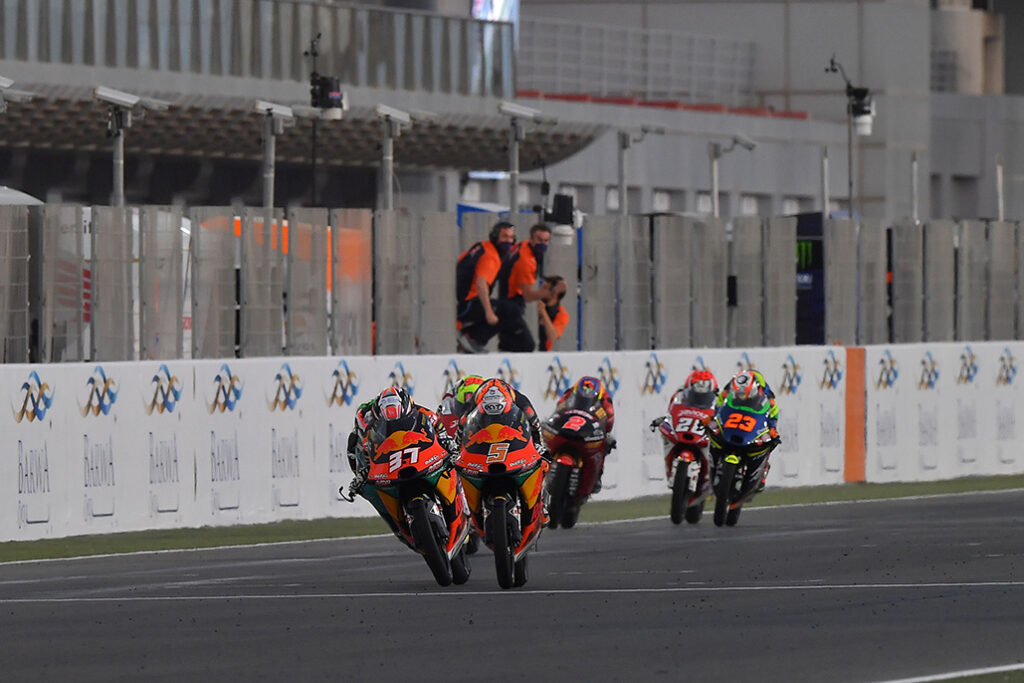 Masia Defeats Acosta And Binder In A Classic Moto3™ Melee