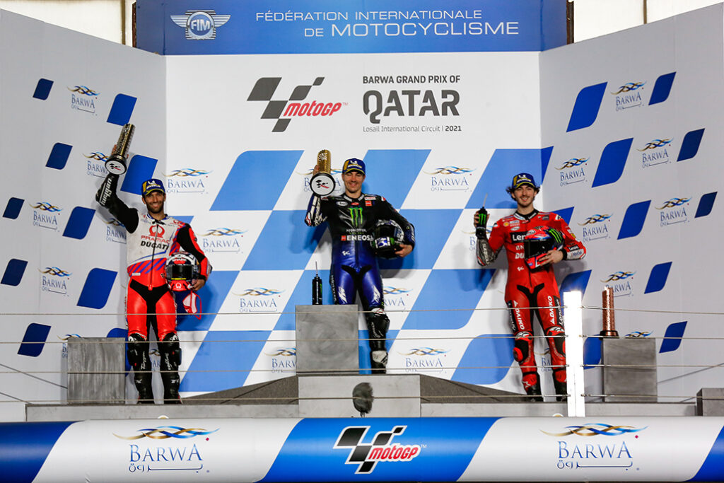 Viñales Battles Through To Victory As 2021 Begins In Style