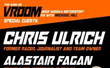 Vroom – Your Motorsport Fix, Episode 26 – Chris Ulrich, Alastair Fagan