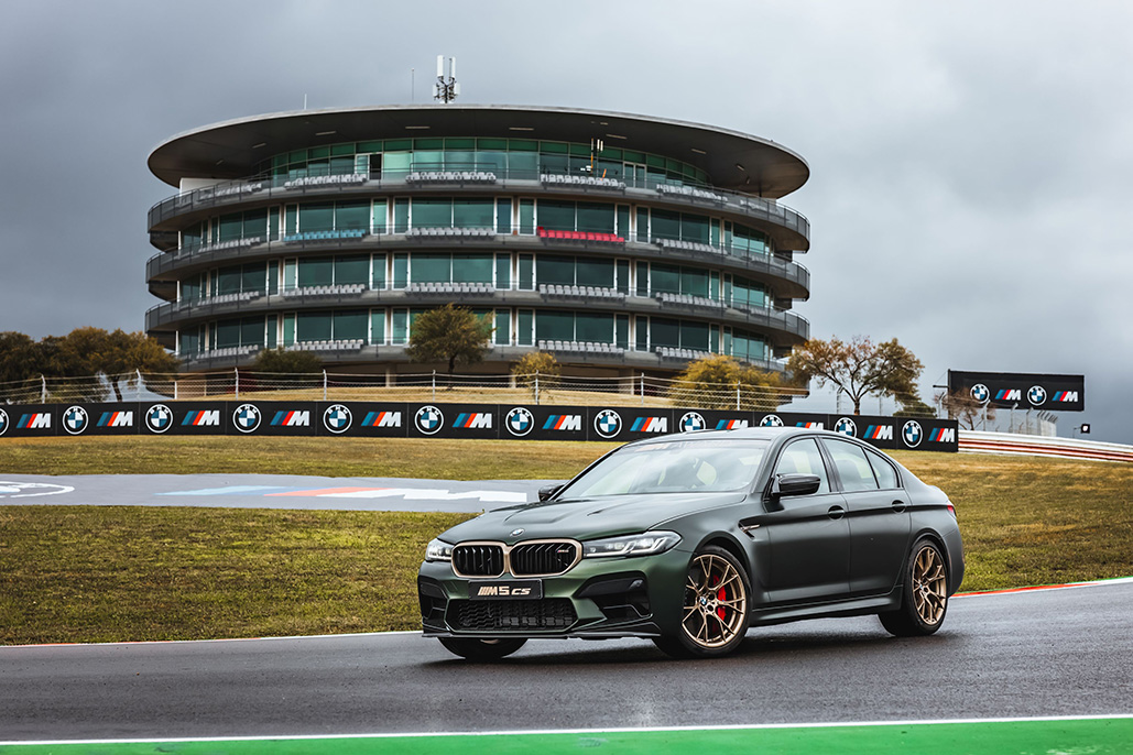 Bmw M Award In Motogp: The New Bmw M5 Cs