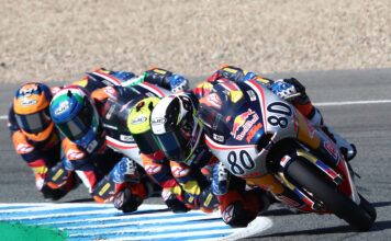 David Alonso Fastest At The Finish In Rookies Cup Jerez Qualifying