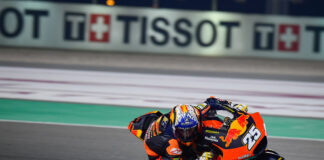 Fernandez Fires Past Diggia To Go Fastest On Day 1