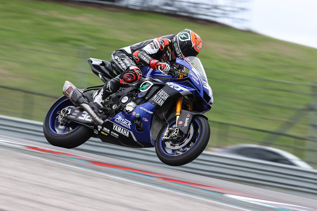Fong Ends Motoamerica Dunlop Preseason Test On Top At Cota