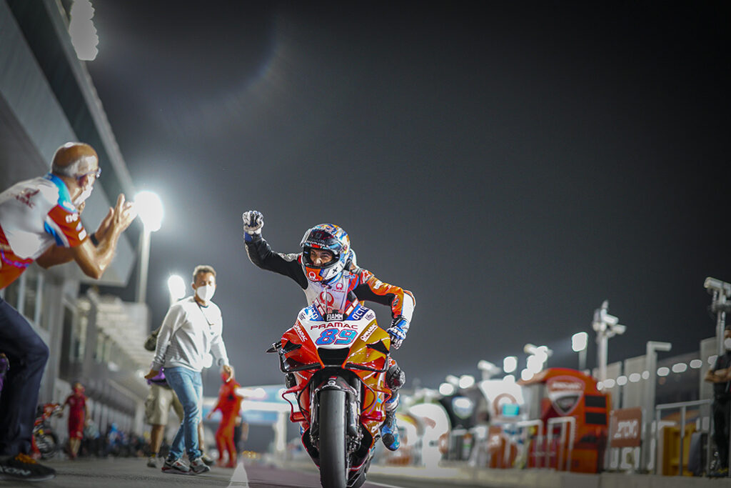 Martin Storms To Stunning Maiden Pole In Doha