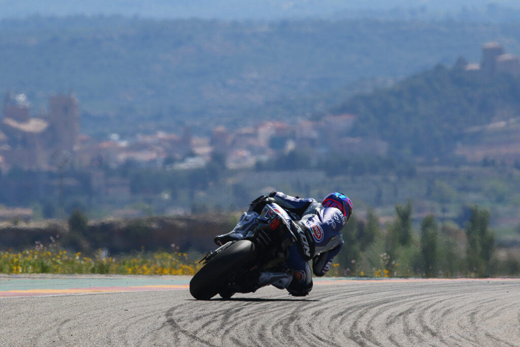Redding Powers To The Top On Day Two At Aragon As He Leads Ducati 1-2