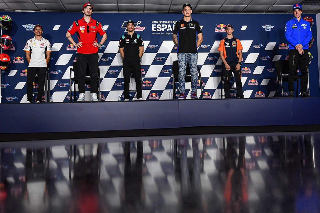 There's No Target… Just Ride The Bike: Riders Ready For A New Challenge In Jerez