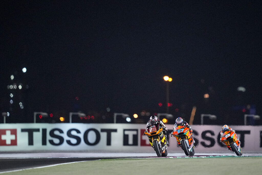 To The Wire: Lowes Fends Off Gardner In A Tense Moto2™ Take Two