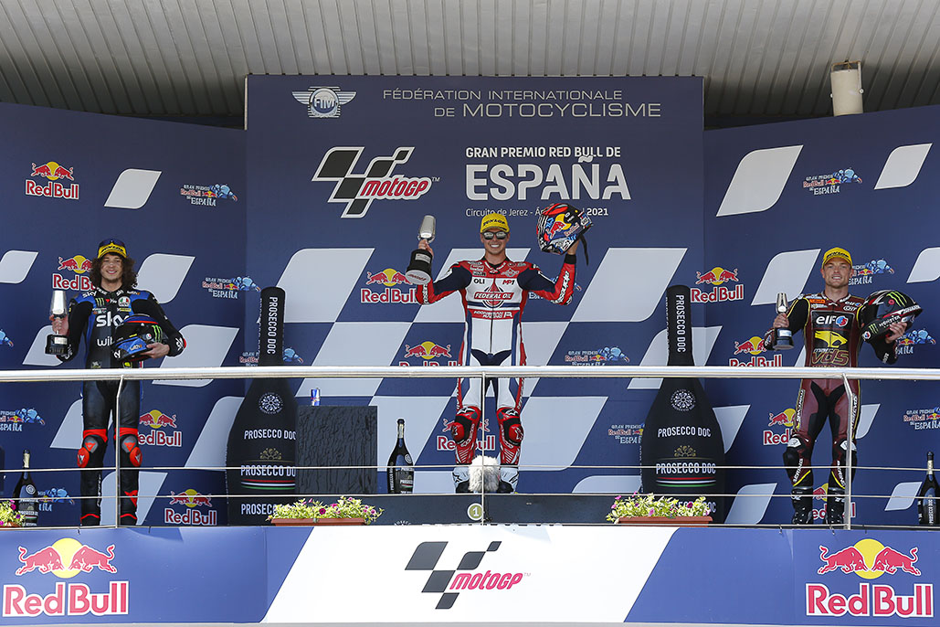 Di Giannantonio Disappears For Dominant First Moto2 Win