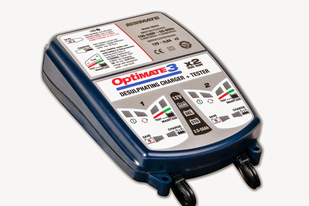 New Optimate3 Global Charger
