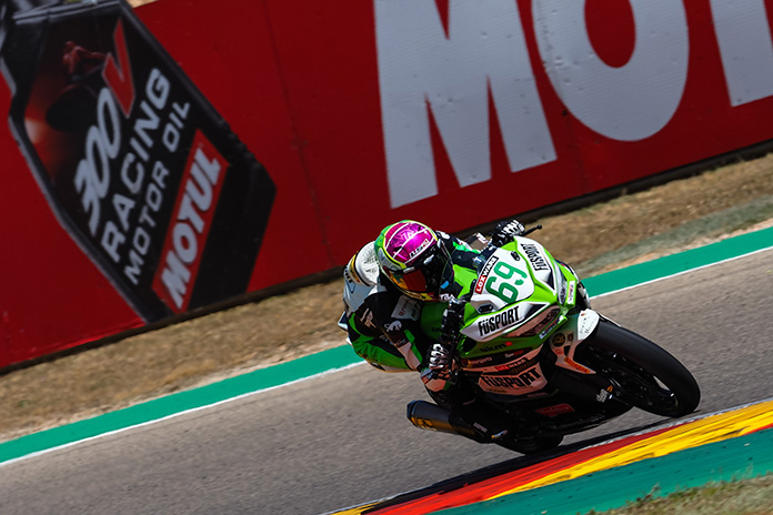 Orradre Tops The Opening Day Of Worldssp300 Action At Aragon