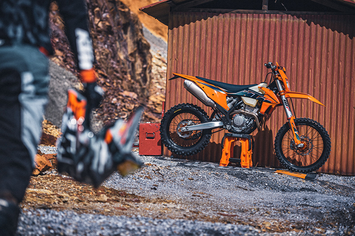 The 2022 Ktm Exc Range Is Ready To Master All Extremes
