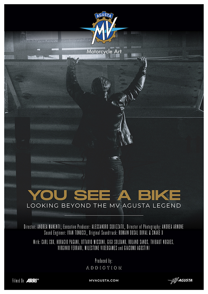 """""""you See A Bike"""": In The Wings Of The Legend"""