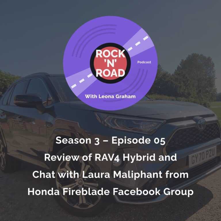 Series 3 Episode 5: Review of RAV4 Hybrid and Chat with Laura Maliphant from Honda Fireblade Facebook Group