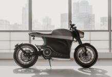 Avon Tyres Oe For Tarform Luna Racer Electric Motorcycle