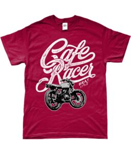 New In Our Biker T-shirt Shop For July
