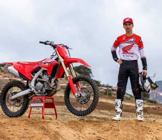 The Crf250r And Crf250rx Headline The 2022 Crf Family Updates