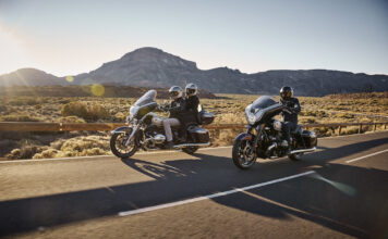 The New Bmw R 18 Transcontinental And The New Bmw R 18 B