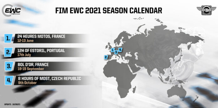 2021 Suzuka 8 Hours Cancelled, 8 Hours Of Most To Debut On Fim Ewc Calendar