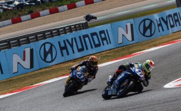 Aegerter Edges Odendaal Race 2 Victory In Shortened Worldssp Encounter At Navarra
