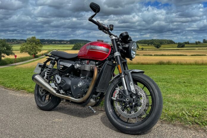 First Look At The New Triumph Speed Twin