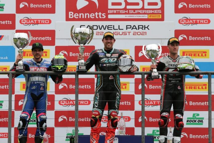 Hickman Claims Fho Racing Bmw Their Debut Win At Cadwell Park