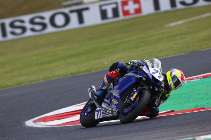 Last-ditch Aegerter Lap Claims Top Spot On Worldssp's Opening Day At Most