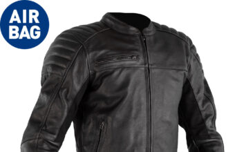 New – Rst Fusion Airbag Leather Jacket